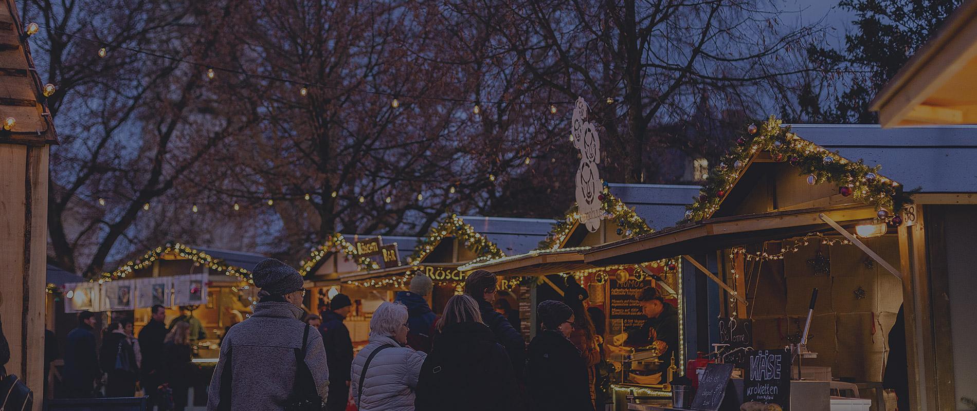 Hvězdné vánoční trhy v Bernu