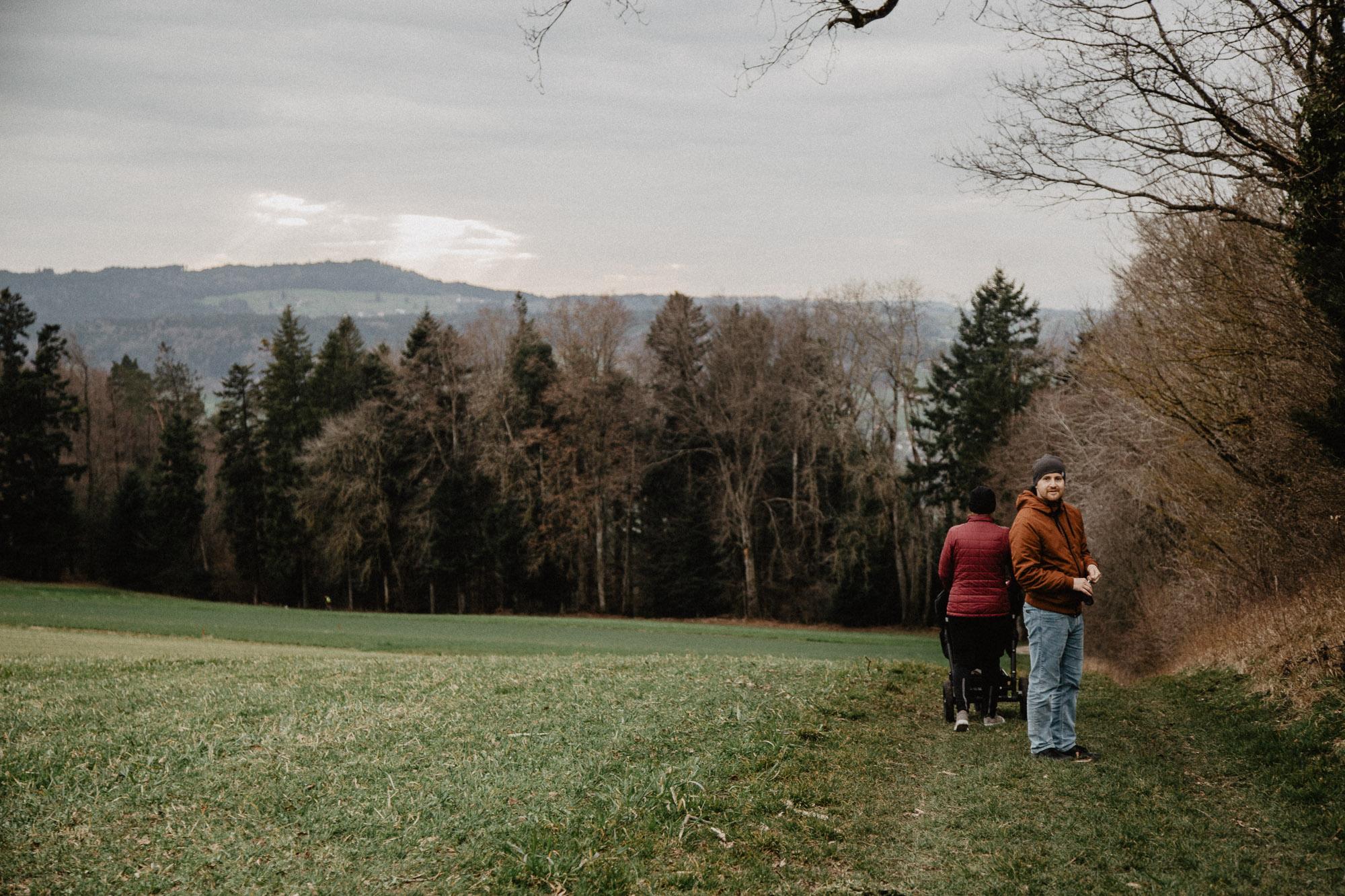Jarní rodinná procházka k rozhledně Homberg, AG
