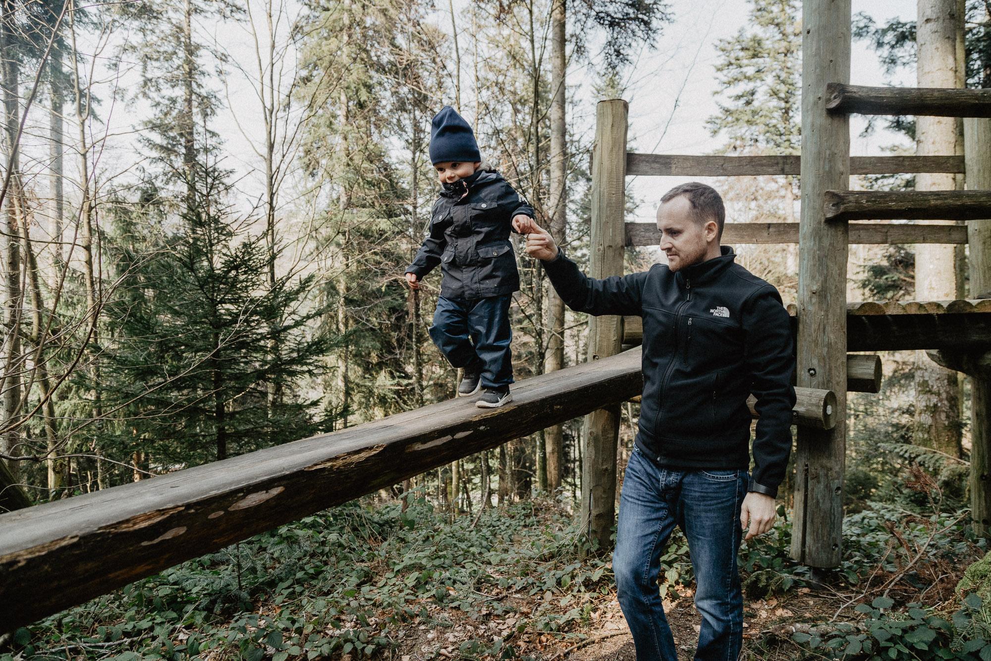 Lesní dobrodružné hřiště v Romoos, LU